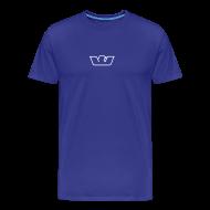 T-Shirts ~ Men's Premium T-Shirt ~ Blue Standard Westone Bird