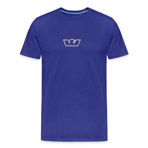 Blue Standard Westone Bird - Men's Premium T-Shirt