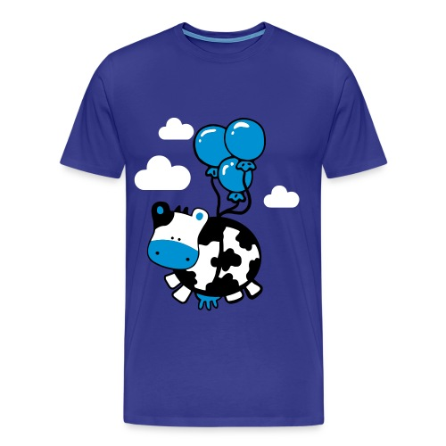 Flying cow - Mannen Premium T-shirt
