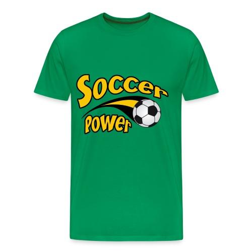 T-shirt soccer power - Men's Premium T-Shirt