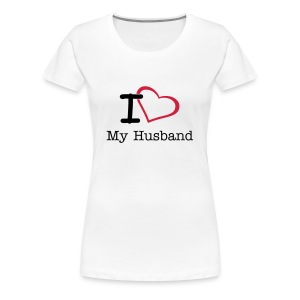 I Love ... - Women's Premium T-Shirt