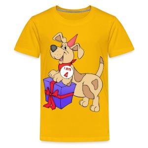 I am 4 doggy - Teenage Premium T-Shirt