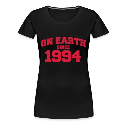 1994  - Premium T-skjorte for kvinner