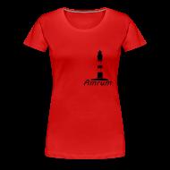T-Shirts ~ Frauen Premium T-Shirt ~ Amrumer Leuchtturm