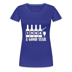 1984 Birthday T-shirt - A Good Year - Women's Premium T-Shirt