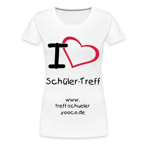 I [love] Schueler-Treff Girls - Frauen Premium T-Shirt