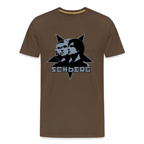 Schokometallmopeten - Männer Premium T-Shirt