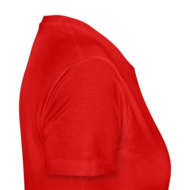 """Frauen Shirt """"Tanzpaar"""", XL-XXXL, Rot"""