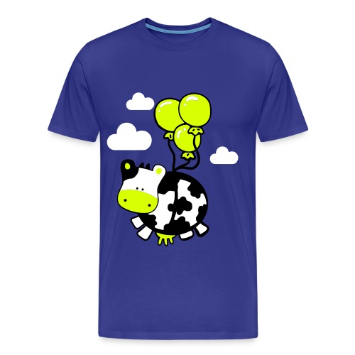 Flying cow - Mannen Premium T-shirt