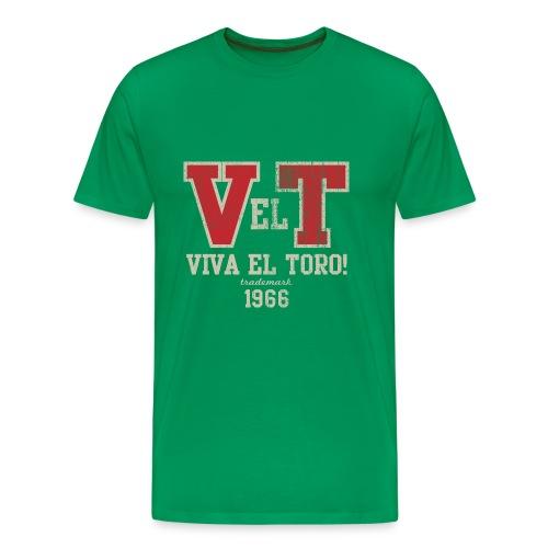 VIVA EL TORO! Collegiate Bulls - Männer Premium T-Shirt