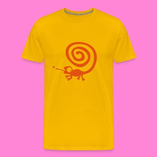 Kameleon 1 - Mannen Premium T-shirt