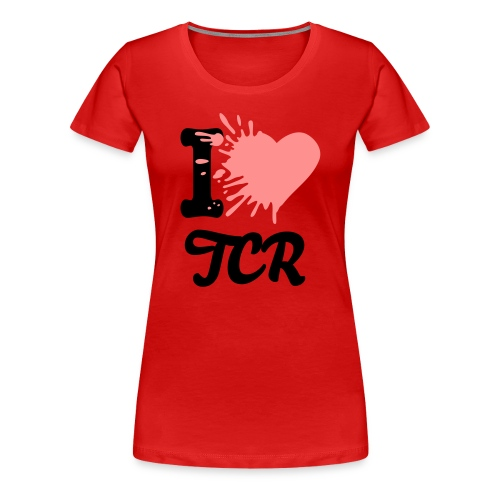 TCR Lady Shirt ROT - Frauen Premium T-Shirt