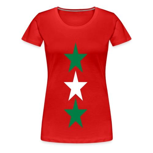 stars - Frauen Premium T-Shirt