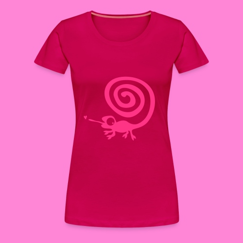 Kameleon 1F - Vrouwen Premium T-shirt