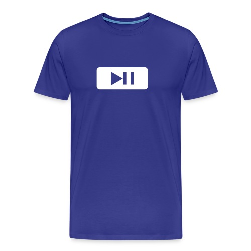 Play and Pause - T-shirt Premium Homme