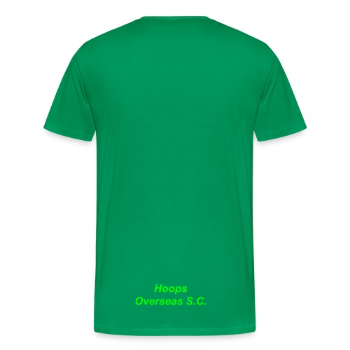 Hoops 16th some extasy green tee - Men's Premium T-Shirt