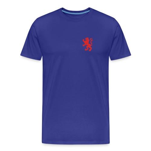 Scottish Lion Rampant Royal Blue T-shirt - Men's Premium T-Shirt