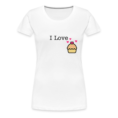 Cupcake Love - Women's Premium T-Shirt