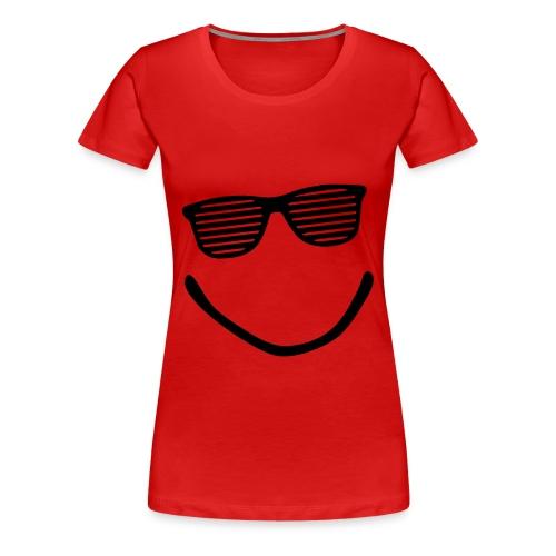 t-shirt donna occhiali - Maglietta Premium da donna