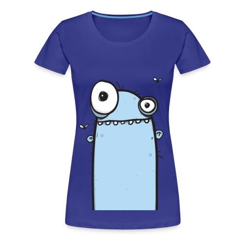 Blue Boil Barry Womens T-shirt - Women's Premium T-Shirt