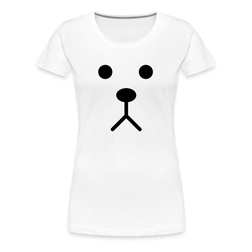 Dog face - Vrouwen Premium T-shirt