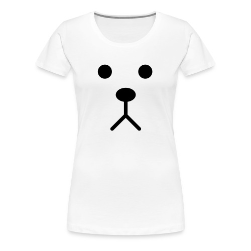 Dog face - Vrouwen Premium T-shirt
