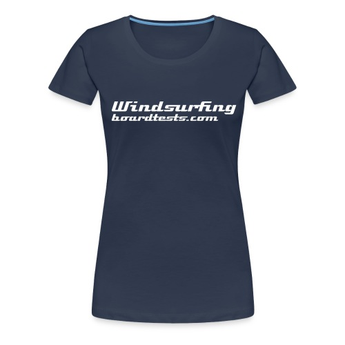 Windsurfing - Women's Girlie Shirt - Women's Premium T-Shirt