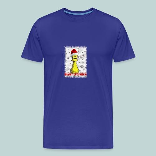 Merry chessmas 1 - Männer Premium T-Shirt