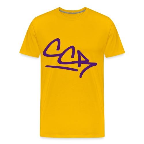 Lilalaune  CCR - Männer Premium T-Shirt