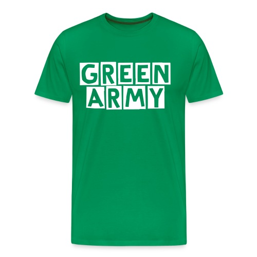 Green Army - Plymouth Argyle T-Shirt - Men's Premium T-Shirt