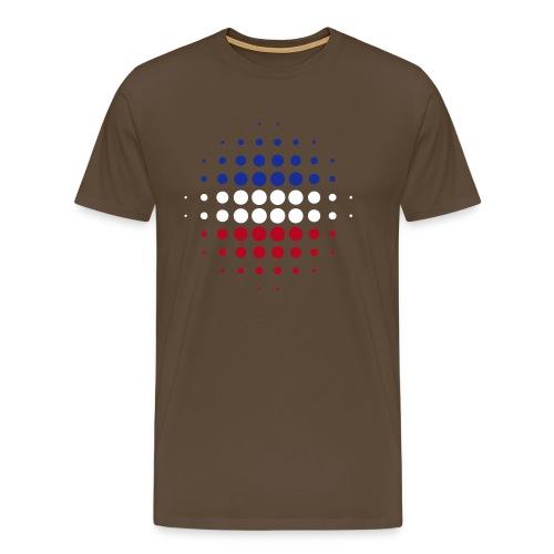 Born in... Flock - Männer Premium T-Shirt