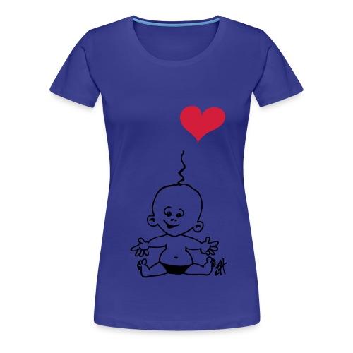Baby! T-shirt for Pregnant women`s - Premium T-skjorte for kvinner