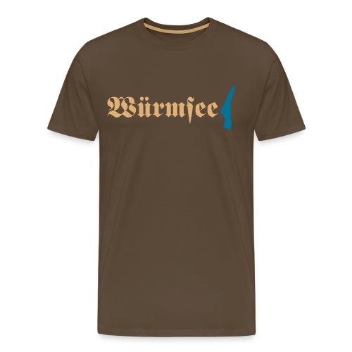 Würmsee - Männer Premium T-Shirt