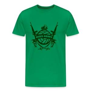 Hibs Army - Men's Premium T-Shirt