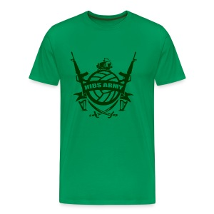 Hibs Army - Men's Premium T-Shirt