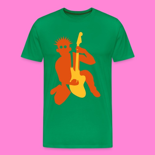 Cool guitar 2 - Mannen Premium T-shirt