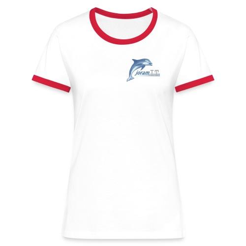 Maglia Donna Disegno anteriore - Maglietta Contrast da donna