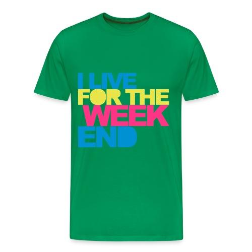week end - Camiseta premium hombre