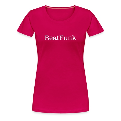 BeatFunk official Tshirt Girly - Vrouwen Premium T-shirt