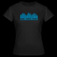 T-Shirts ~ Frauen T-Shirt ~ Karl-Marx-Stadt Heckert