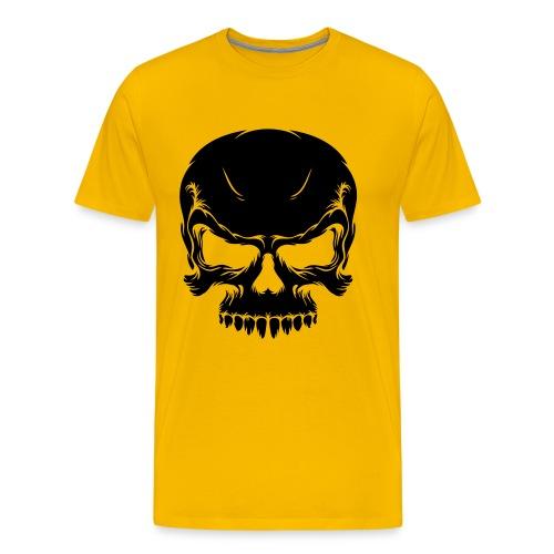 Tattoo Skull yellow - Camiseta premium hombre