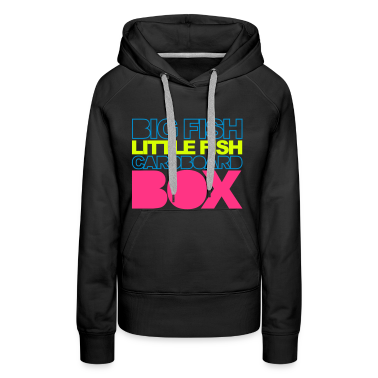 Black Big Fish Hoodies & Sweatshirts