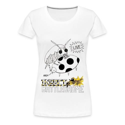 Insect Battledrome LIVE Skinny T-shirt - Women's Premium T-Shirt