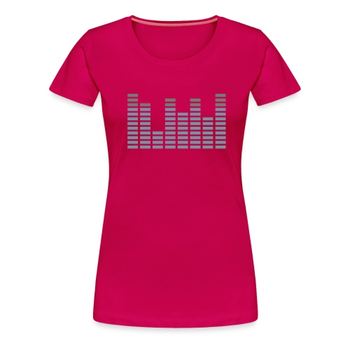 Rhythm Girly - Vrouwen Premium T-shirt