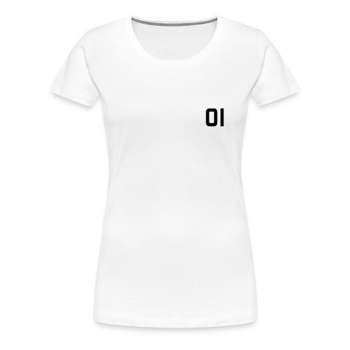 T-Shirt Bianca 10 specchio - Maglietta Premium da donna