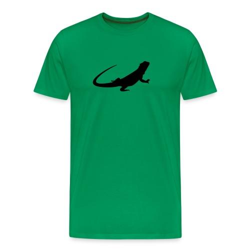 Bearded Dragon T-Shirt - Men's Premium T-Shirt