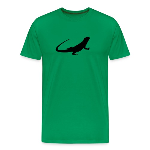 Bearded Dragon T-Shirt - Men's Premium T-Shirt