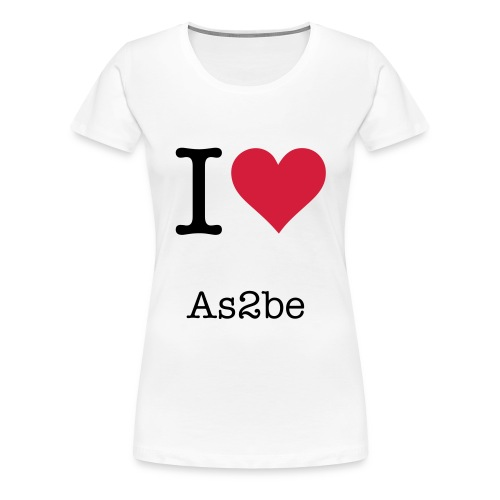 as2be - Women's Premium T-Shirt