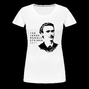 150 Jahre Rudolf Steiner 2011 - Frauen Premium T-Shirt