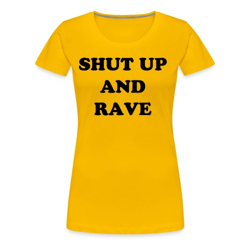 'The basic orignal rave' womens tee - Women's Premium T-Shirt